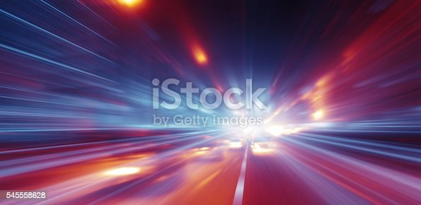 istock Faster than the speed of light 545558628