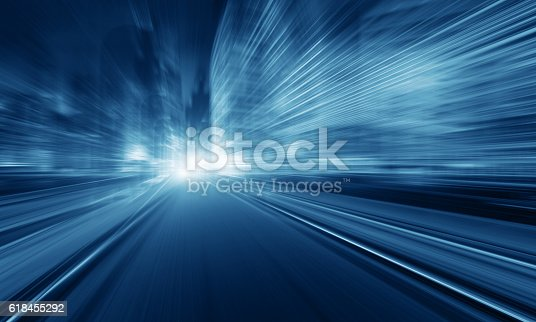 istock Faster than the speed of light 618455292