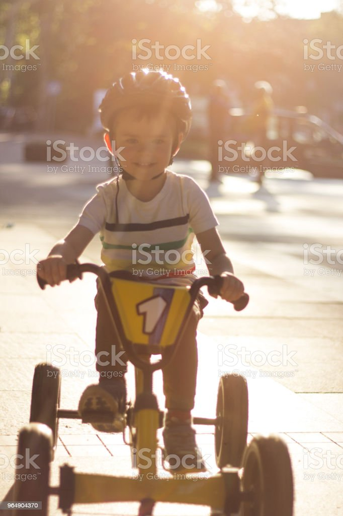Fastest Pedaling royalty-free stock photo