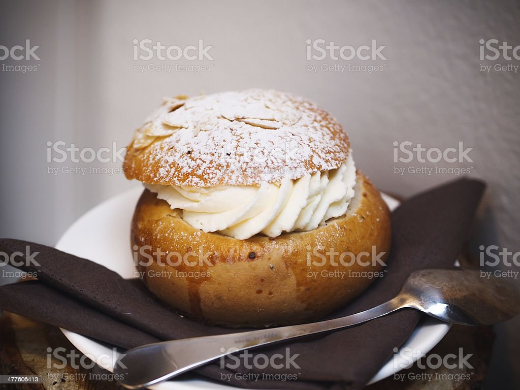 Fastlagsbulle - Royalty-free Bread Stock Photo