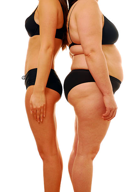 fat and thin - thin stock photos and pictures