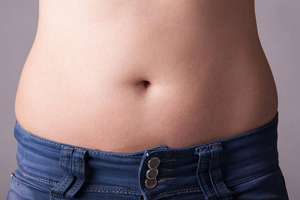 fat belly - violetastoimenova stock photos and pictures