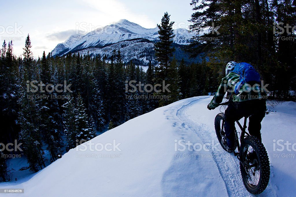 Fat Bike Adventure stock photo