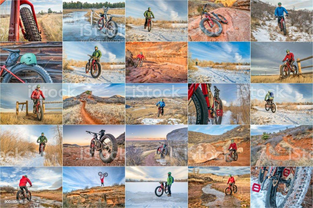 grasa bicicleta en northern Colorado - foto de stock
