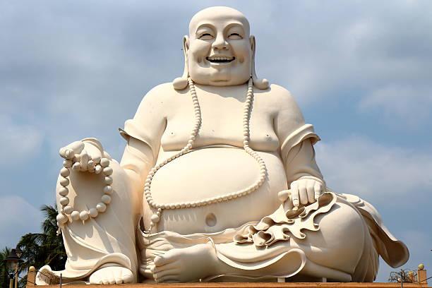 Fat Buddha head foto