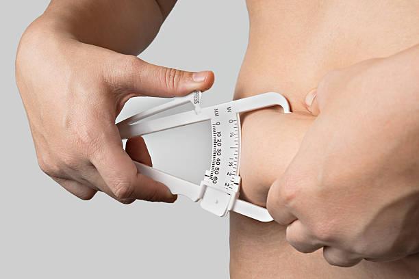 Fat Caliper stock photo