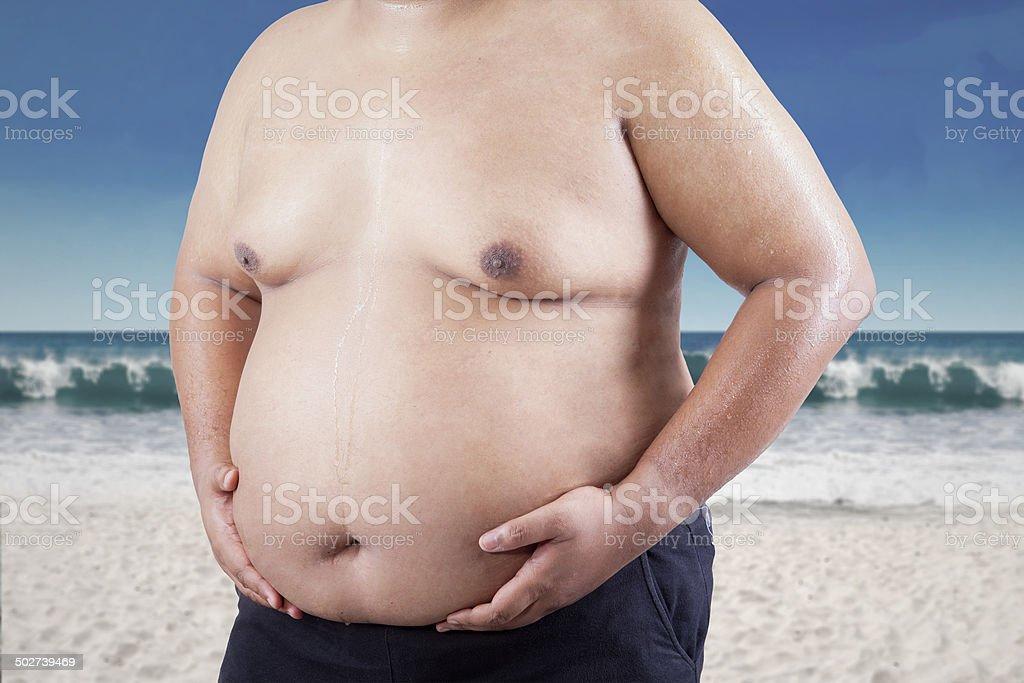 Uomo grasso Single Lady