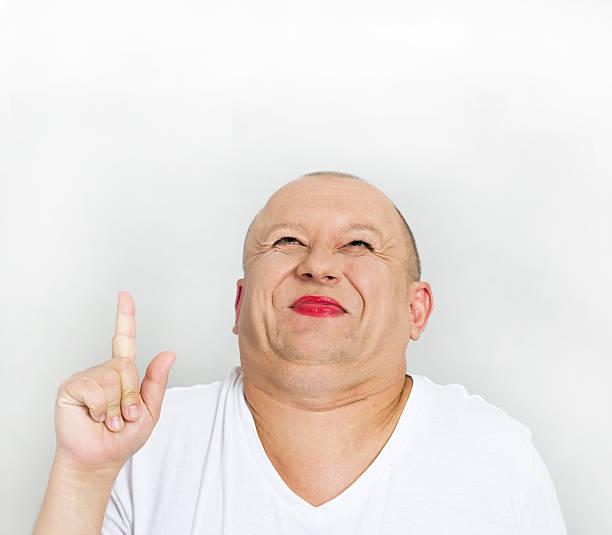 fat man show up - 諷刺畫 個照片及圖片檔