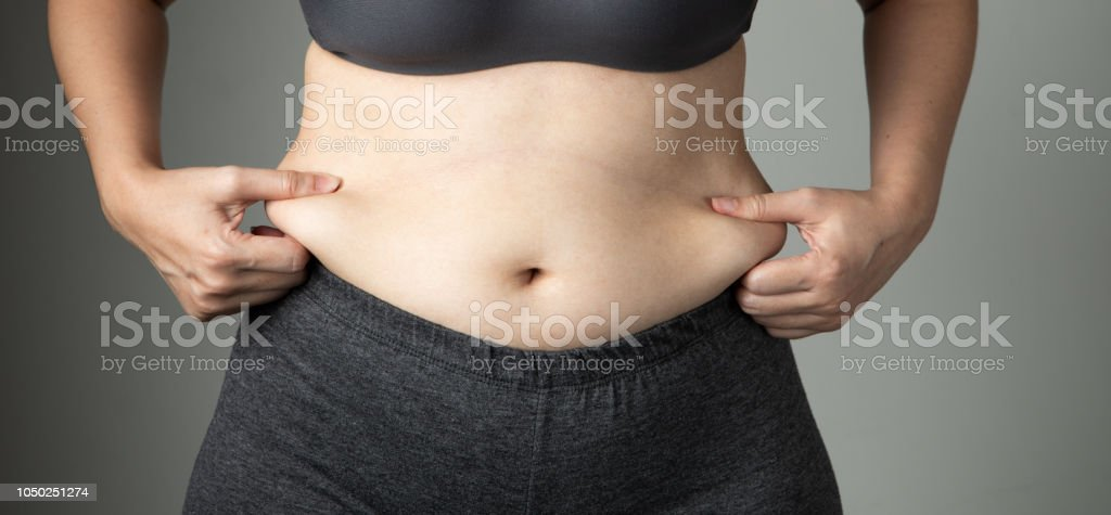 40ee1e531293d Fat Woman Cellulite Belly Unhealthy Stock Photo   More Pictures of ...
