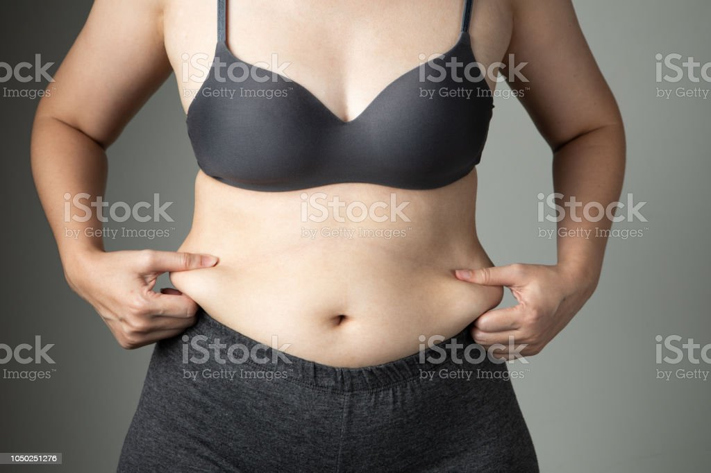 Fat Woman Cellulite Belly Unhealthy Stock Photo Download Image Now Istock
