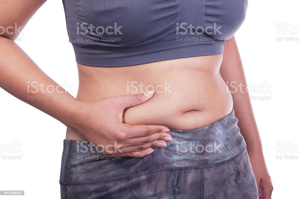 fat women stock photo