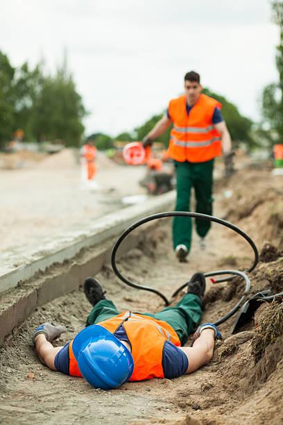 Blessures fatales sur le lieu de travail - Photo