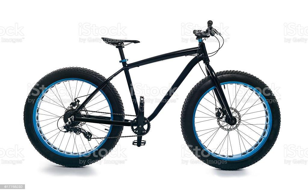 Fatbike fat bike or tire big stock photo