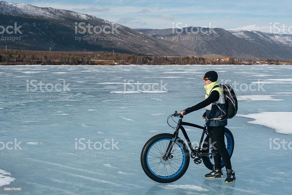 Fatbike. stock photo