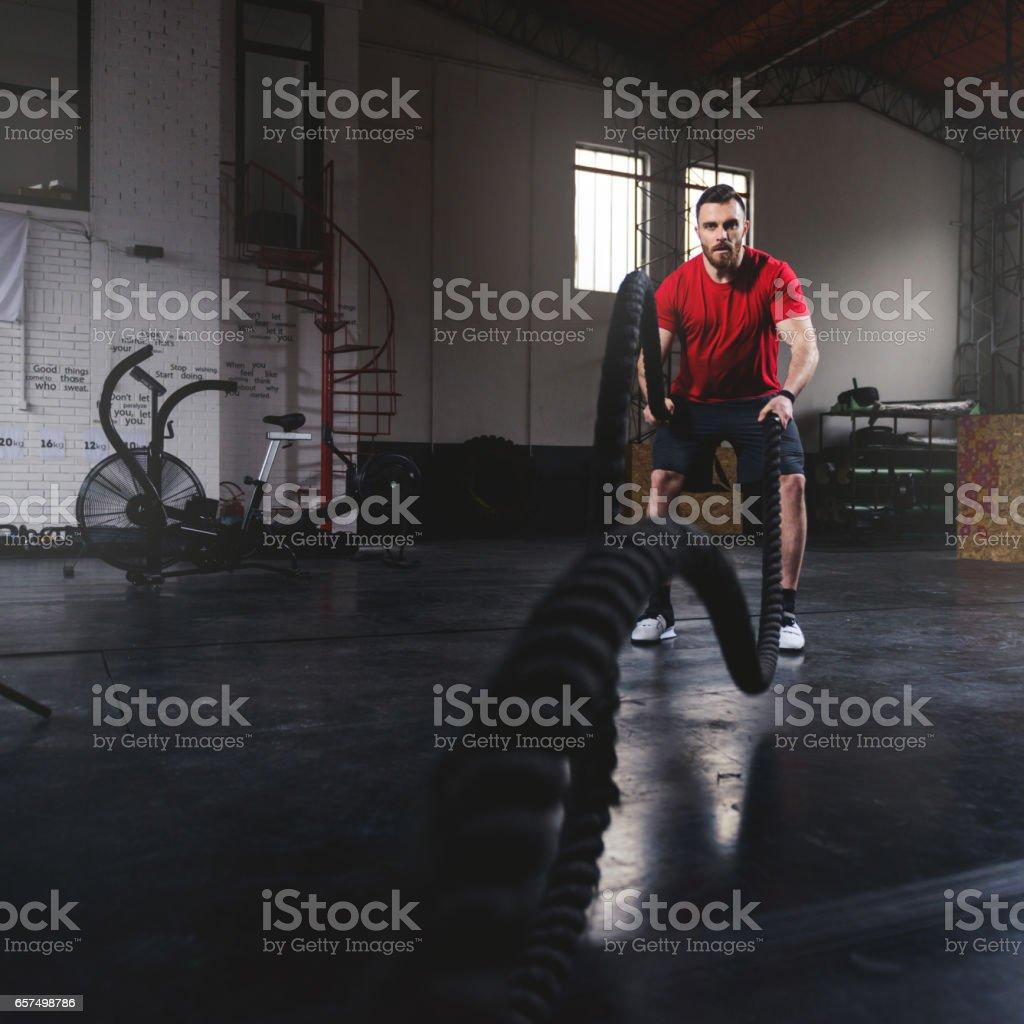 Fat-burning stock photo
