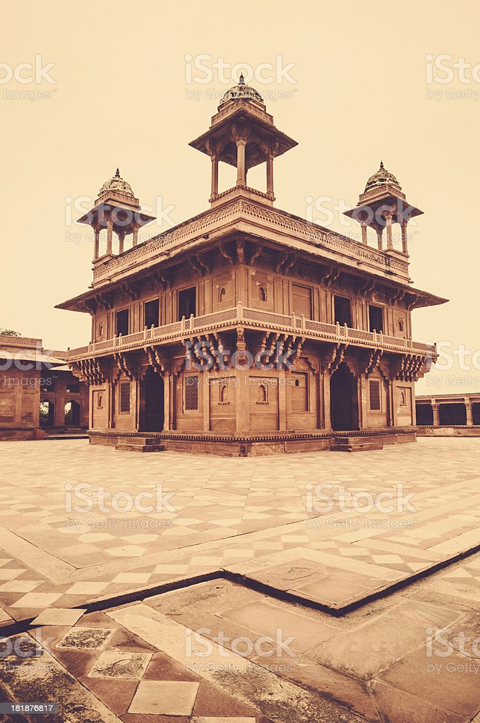 Fatehpur Sikri Agra royalty-free stock photo