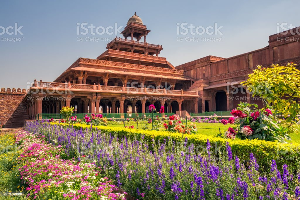 Fatehpur Sikri city stock photo