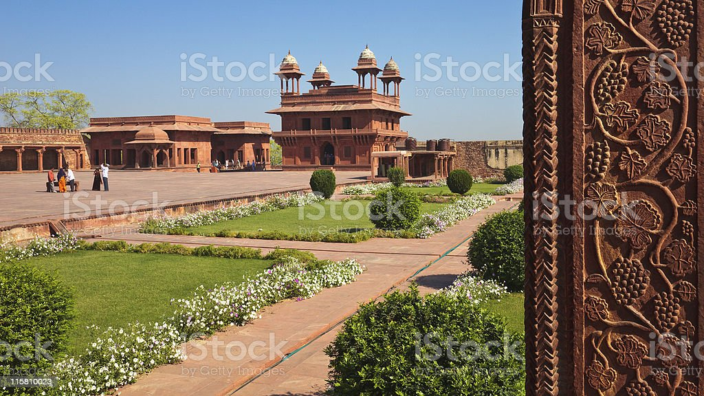 Fatehpur Sikri World Heritage Site stock photo