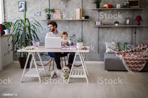 Father and baby in home office picture id1069853718?b=1&k=6&m=1069853718&s=612x612&h=ijrhsrolksgj3lmz4sn hrlss3pv8knoylb8sqeubvk=