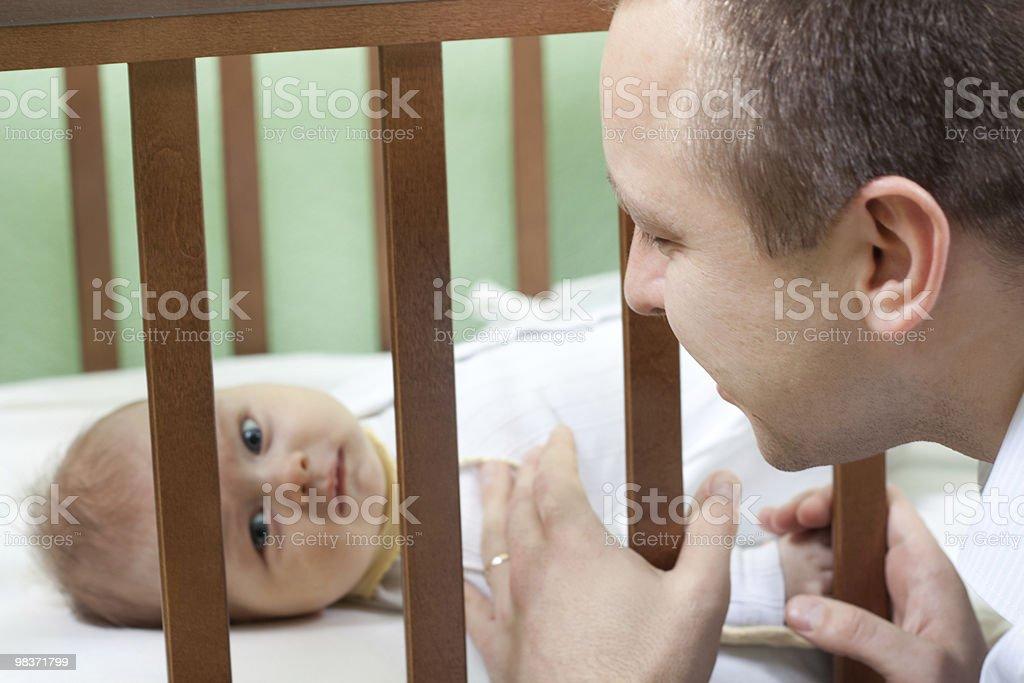 Padre e figlio foto stock royalty-free