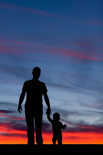 Vater und Kind – Foto