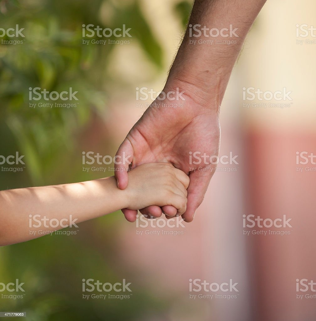 Father and child royalty-free stock photo