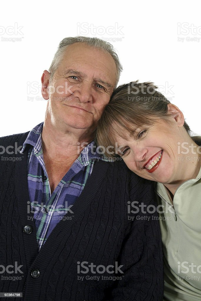 Father And Daughter 2 royalty-free stock photo
