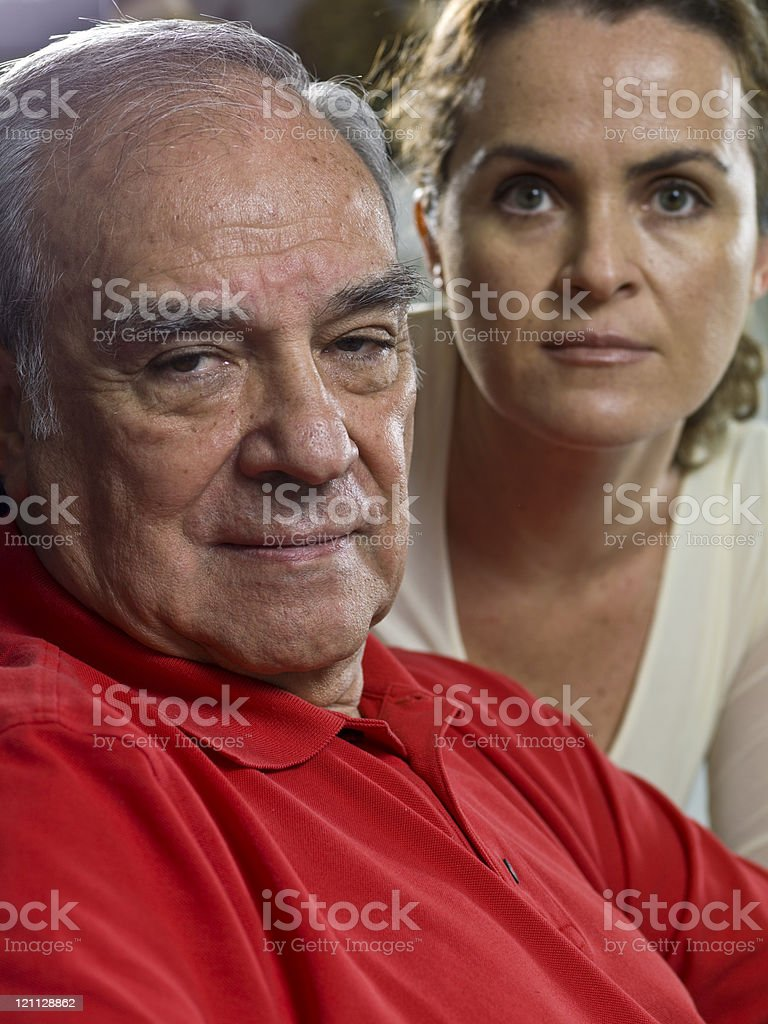 Padre e hija - foto de stock