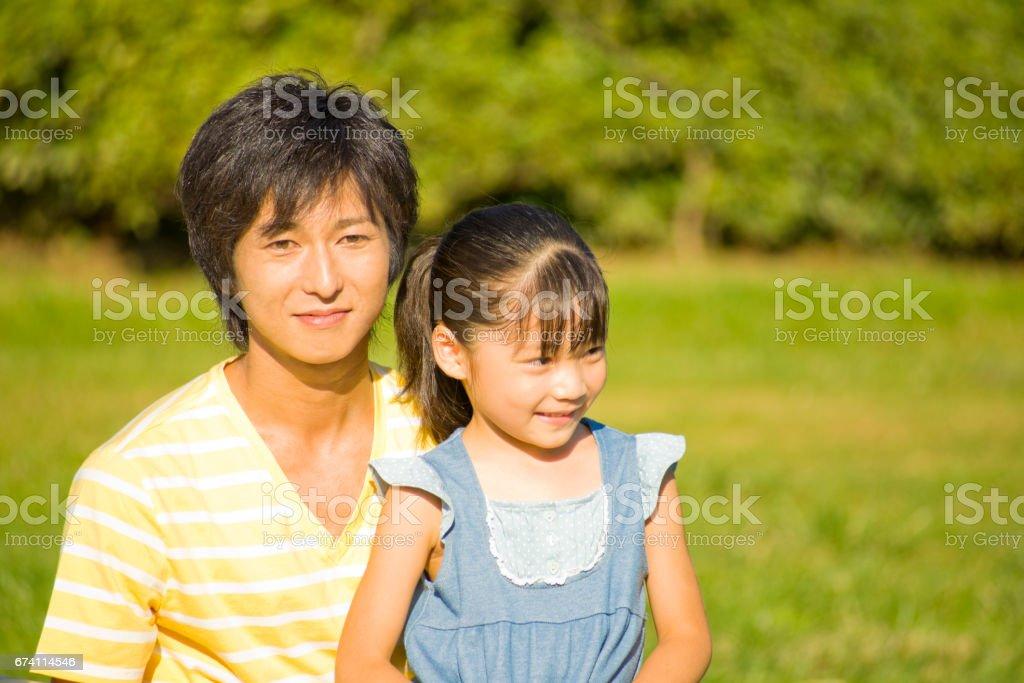 父親和女兒 免版稅 stock photo