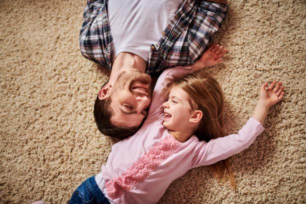 Vater und Tochter – Foto