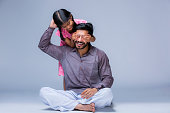 India, Daughter, Father, Family, Smiling, One Parent