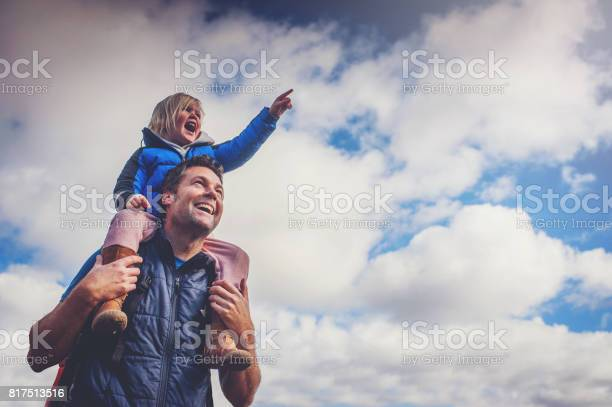 Father and daughter pointing cloudy sky picture id817513516?b=1&k=6&m=817513516&s=612x612&h=qxk4ablf3ovuttod7km1y6lj quvvfs  u6vl5cwpq8=