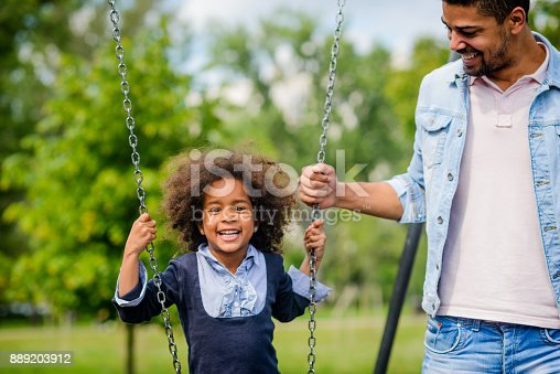 istock Father and daughter time. 889203912