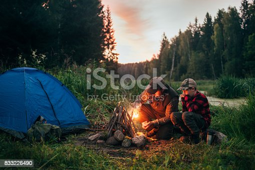 Real people. real camping, Northern Europe.