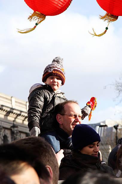 Père et fils, Londres - Photo