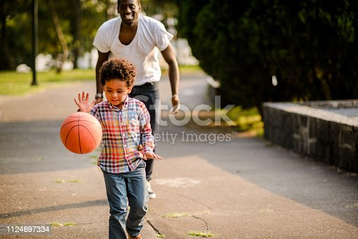 889172928 istock photo Father and son. 1124697334