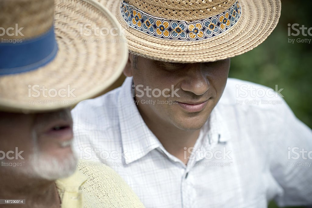 Father and son. royalty-free stock photo