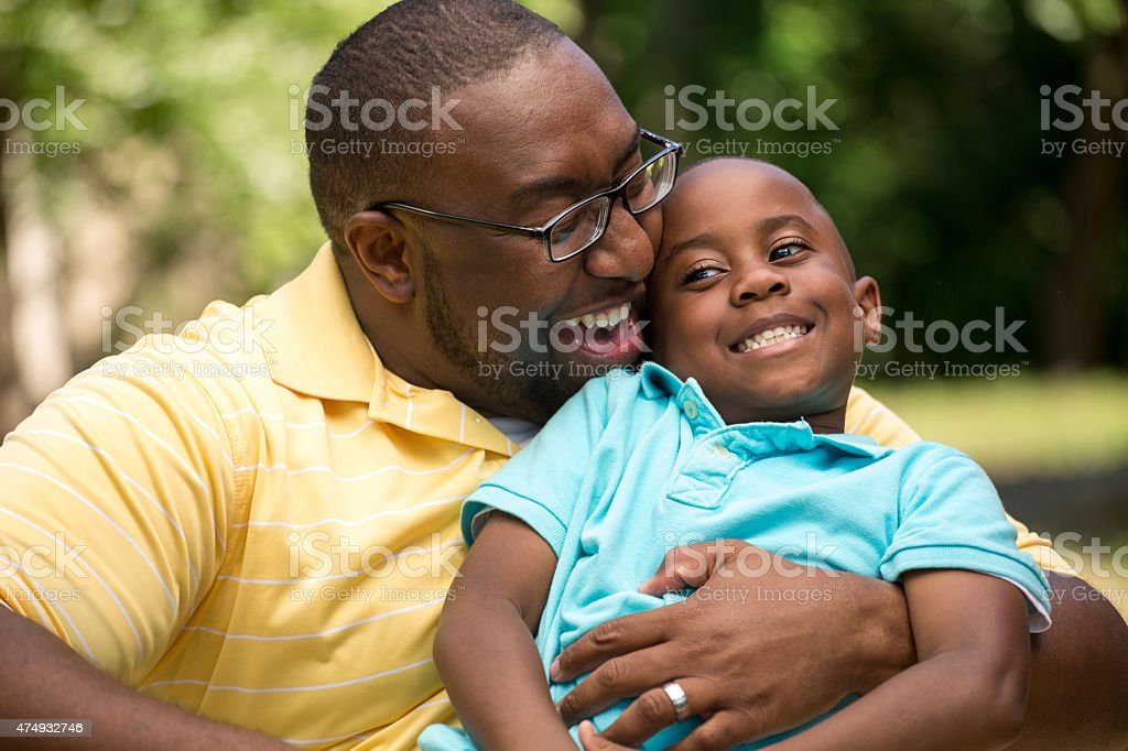 Padre e hijo - foto de stock
