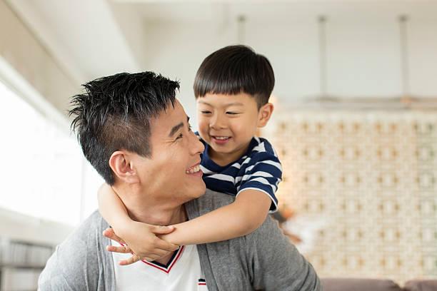 Père et fils - Photo
