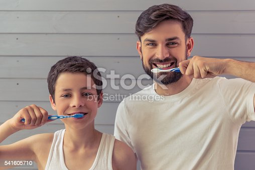 istock Father and son 541605710