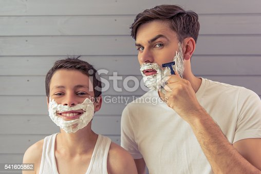 istock Father and son 541605862