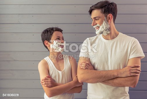 istock Father and son 541606028