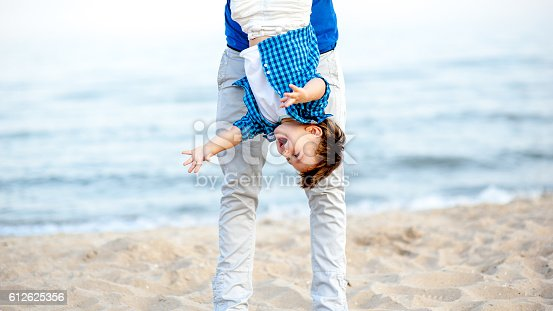 istock Father and son. 612625356