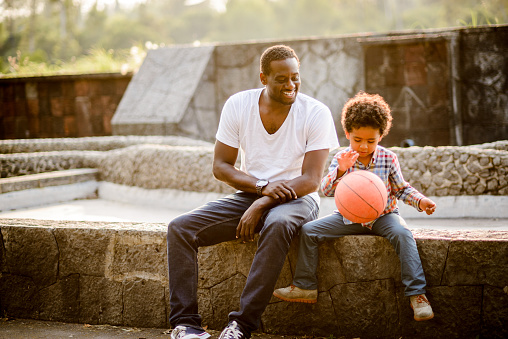 997711042 istock photo Father and son. 889176820