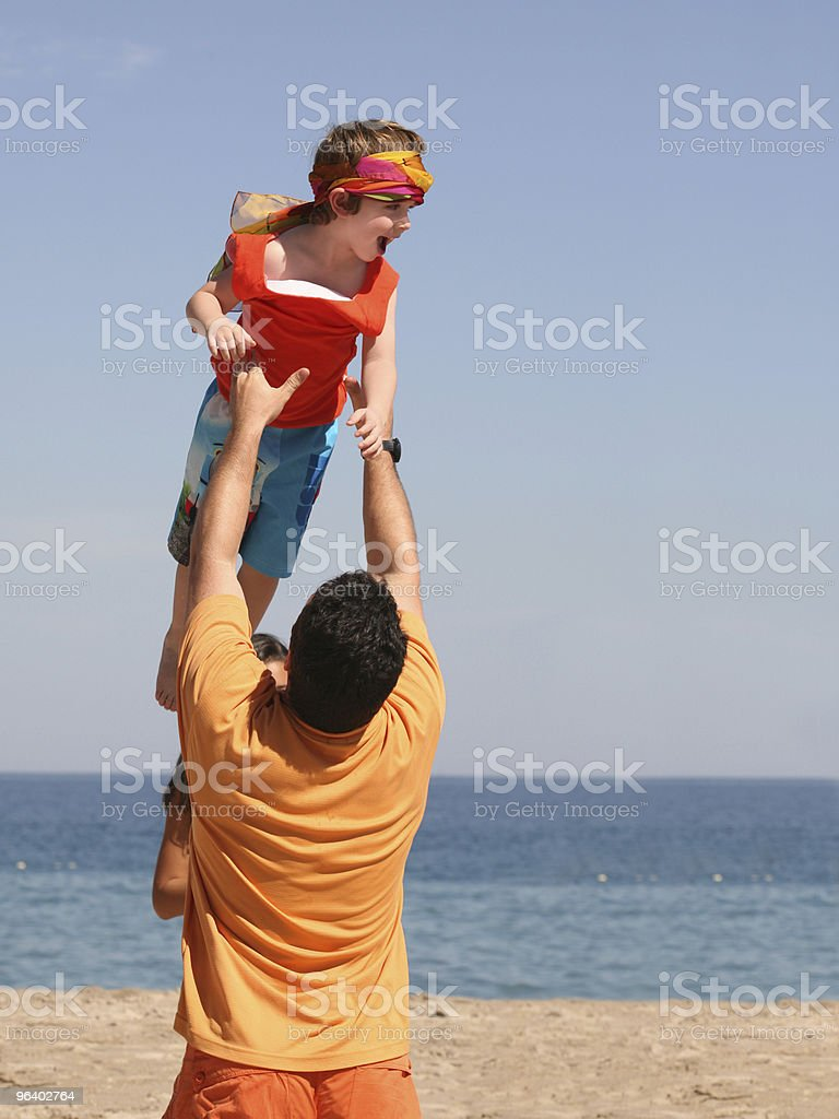 Father and son - Royalty-free Adult Stock Photo
