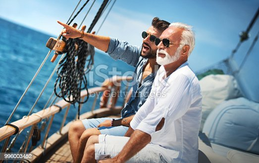 istock Father and Son Sailing 996003452