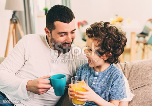 istock Father and son time 590074434