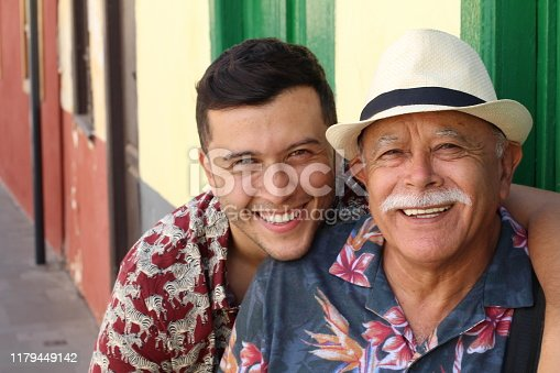 istock Father and son with lots of resemblance 1179449142