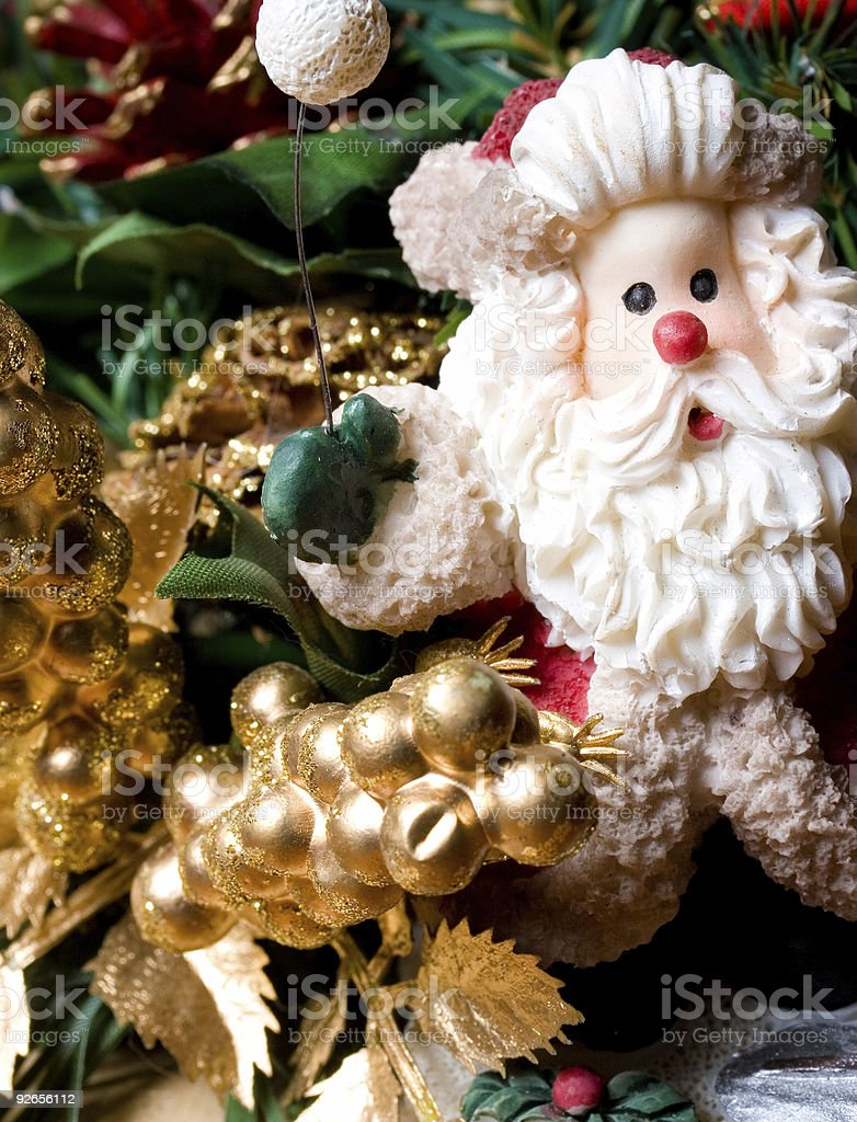 Father Christmas royalty-free stock photo