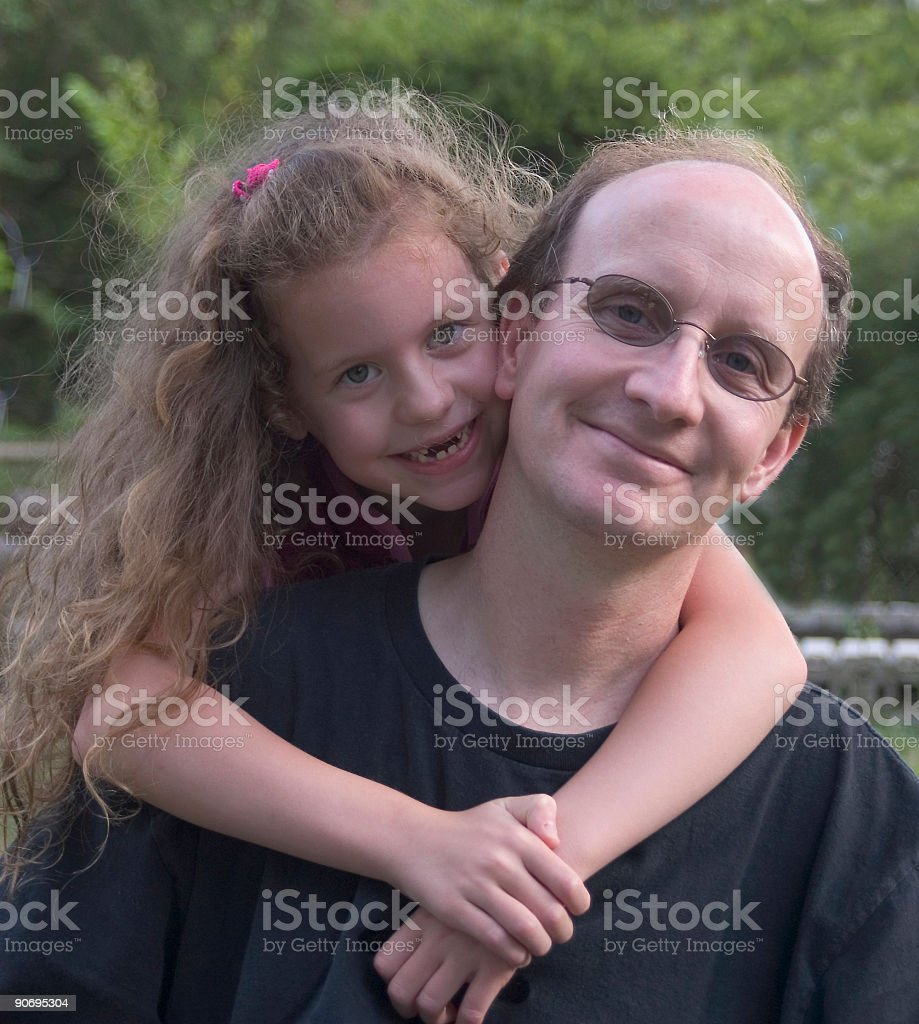 Father & Daughter royalty-free stock photo